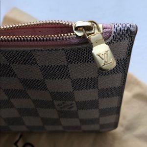 Louis Vuitton Other - Louis Vuitton Damier Azur Wristlet Pochette